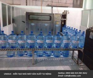 [Bật Mí] Dây chuyền nước uống đóng chai 20L như thế nào?