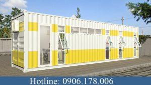 Thuê container văn phòng - sự lựa chọn thông minh cho các nhà thầu