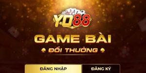 Yo88- Cổng game bài đổi thưởng trực tuyến