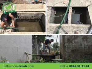 Hút hầm cầu Sài Gòn của công ty Lê Linh giá bao nhiêu?