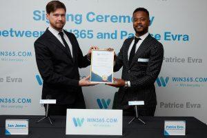 Patrice Evra: danh thủ M.U trở thành đại sứ thương hiệu cho nhà cái WIN365