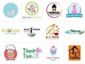 Dịch vụ thiết kế logo công ty thực phẩm số 1 TPHCM