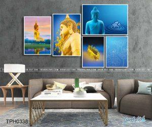 Tuyệt chiêu mua tranh canvas hình Phật đẹp, giá tốt